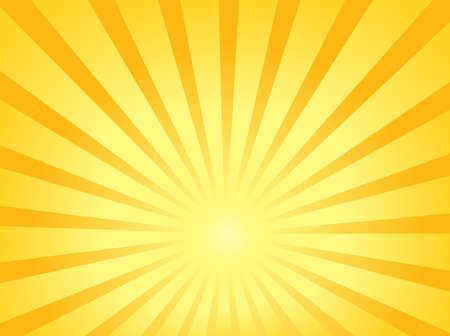 sun rays: Sun theme abstract background 1  illustration