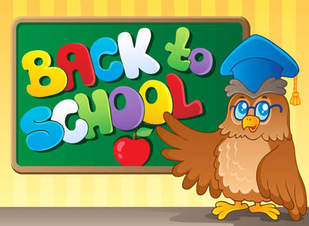 Back to school thematic image 3 - vector illustration Stock Vector - 15191265