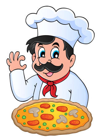 Chef theme image 6 - vector illustration  Vector