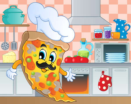 Kitchen theme image 5 - vector illustration  Vector