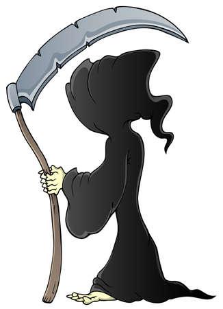 Grim reaper theme  Vector