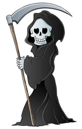 Grim reaper theme image 3  Vector