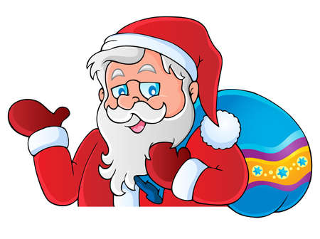 Santa Claus thematic Stock Vector - 15824087