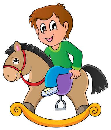 rocking horse: Toys theme