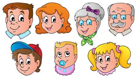 Familie steht theme image 1