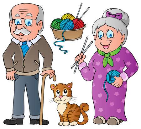 abuelos: La gente y la colecci�n de la familia 2