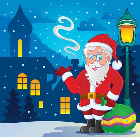Santa Claus thematic image 7 Stock Vector - 16272999