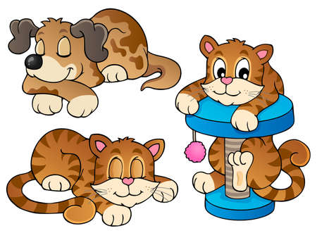 Various pets collection 1  Vector