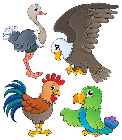 Various birds theme set illustration  Stock Vector - 16906769