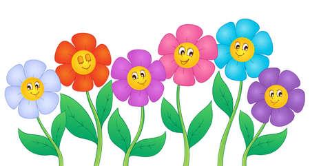 Flower theme image 5 - vector illustration Stock Vector - 17368271