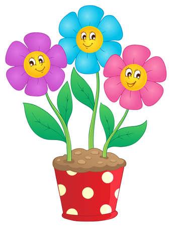 Flower theme image 7 - vector illustration  Stock Vector - 17368297