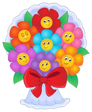 Flower theme image 8 - vector illustration Stock Vector - 17368303
