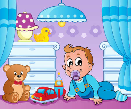 baby room: Baby room theme image 2  Illustration