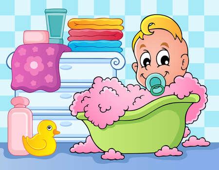 Chambre de bébé image de thème 4