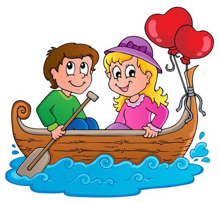 heart vessel: Love boat theme image 1