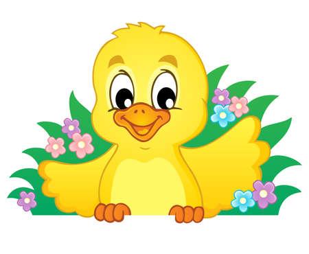 Chicken theme image 1 - vector illustration  Stock Vector - 18088651