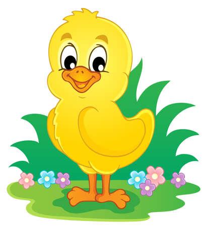 Chicken theme image 3 - vector illustration Stock Vector - 18088650