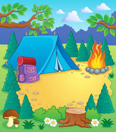 campamento: Campamento tema