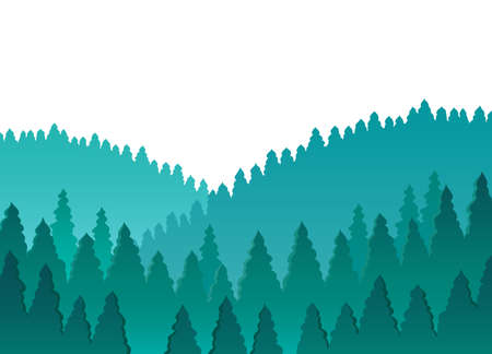 Forest Stock Vector - 18559655