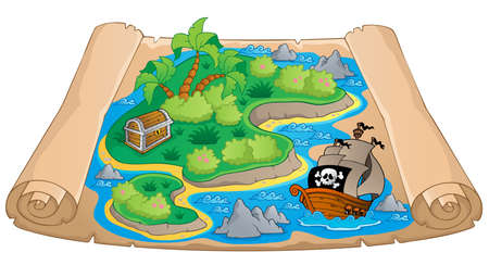 water theme: Treasure map theme