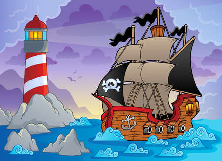 buccaneer: Lighthouse theme image