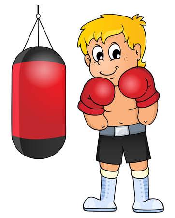 sandbag: Sport and gym theme image