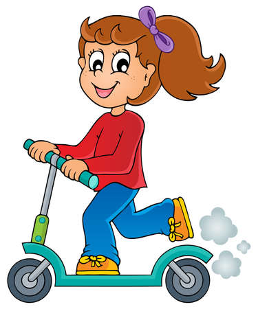 scooters: Kids play theme