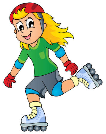 roller skates: Outdoor sport theme