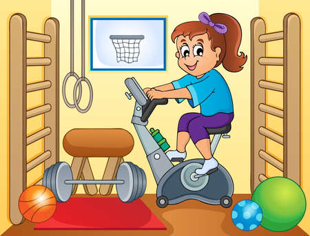 spinning: Sport and gym