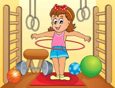 activity exercising: Sport and gym