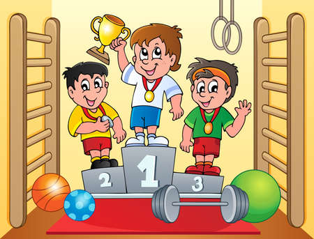 award winning: Sport and gym topic