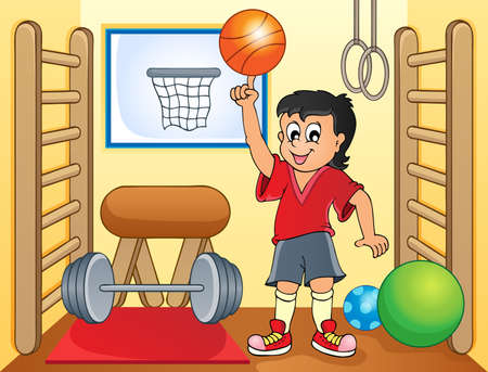 dexterity: Sport and gym topic