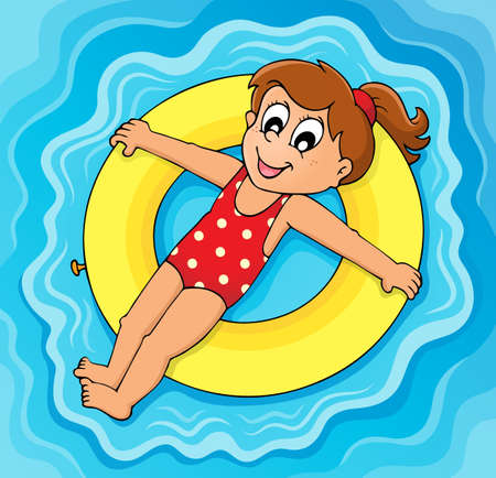 floating on water: Summer water activity