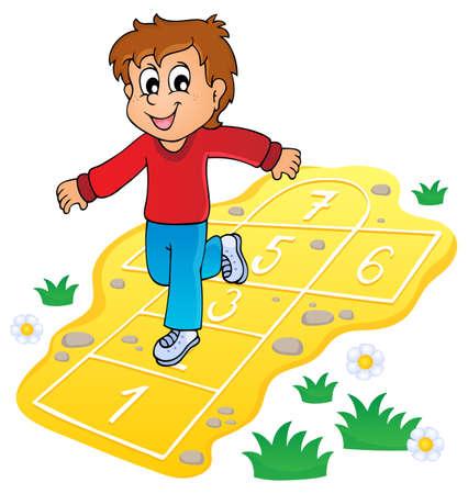 Kids play theme image 8  Illustration