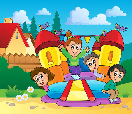 bouncing: Play and fun theme image 1