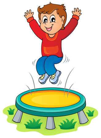 trampoline: Play and fun theme image 3