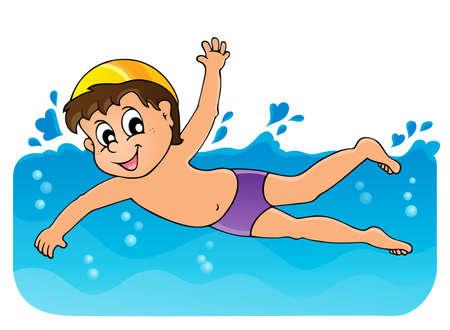niños nadando: Natación imagen Tema 3