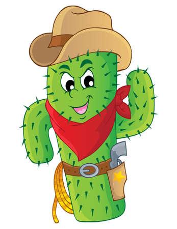 Beeld Cactus thema