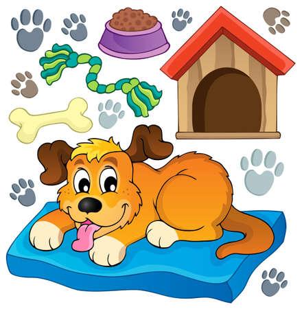 Bild mit Hund Thema