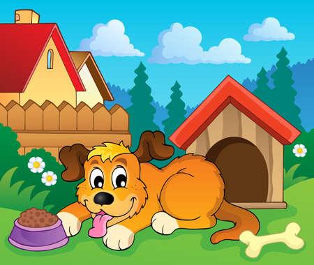 shelter: Image with dog theme