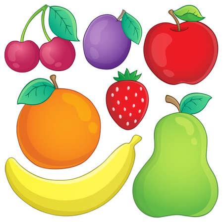 Fruits theme image