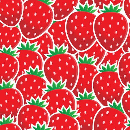 Naadloze achtergrond fruit thema Stockfoto - 20458401