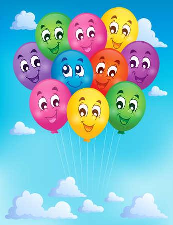 holiday celebrations: Balloons theme image