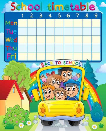 timetable: Orario Scuola argomento