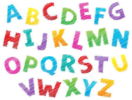 Image with alphabet theme 3 - eps10 vector illustration Stock Vector - 21571146
