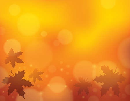 Autumn theme background  Vector