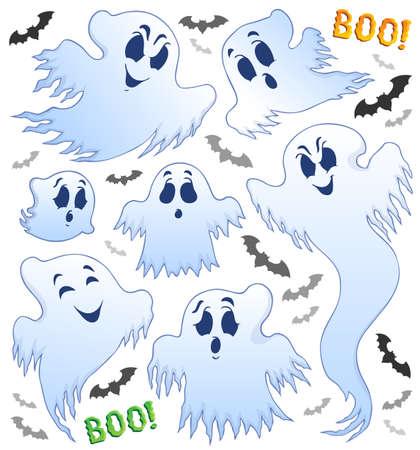 Ghost-Thema Bild Standard-Bild - 22188724