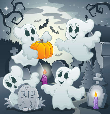 ghost cartoon: Ghost topic image