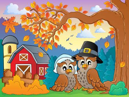 barnyard: Thanksgiving theme image