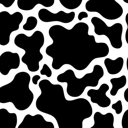 Cow theme seamless background 1 - eps10 vector illustration